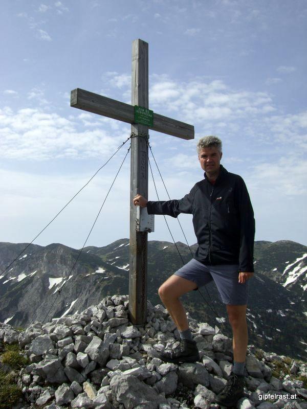 Am Gipfel der Donnerwand