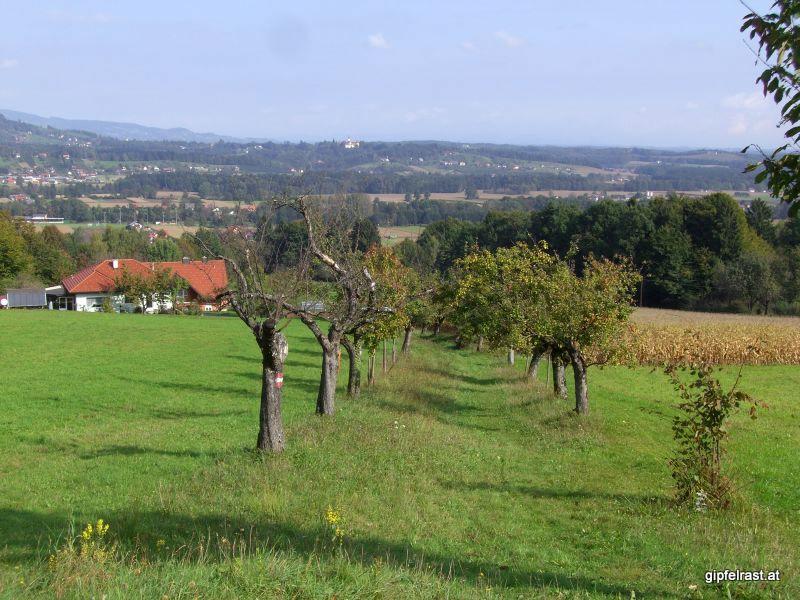 Abstieg nach Schwanberg