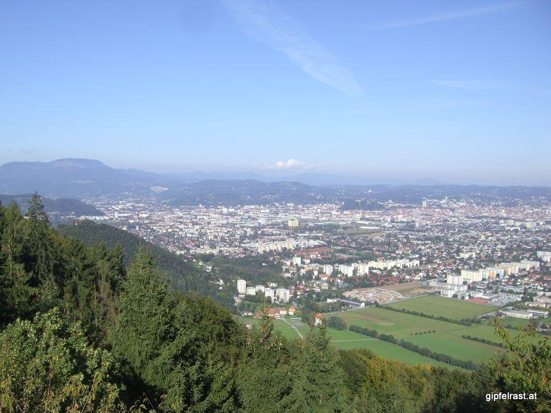 Blick auf Graz von der Rudolfswarte