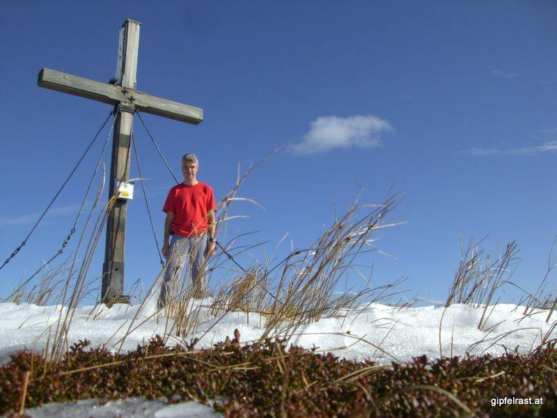 Gipfelfoto Lenzmoarkogel