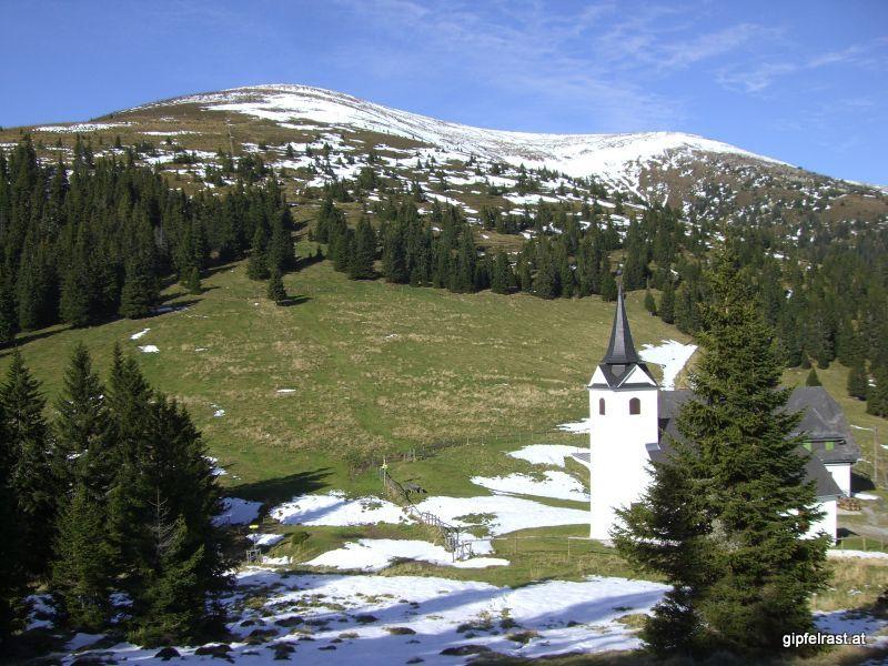 Die Kirche Maria Schnee im Gleinalmsattel