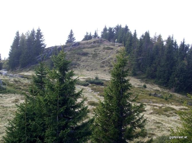 Der Gipfel des Steinplan