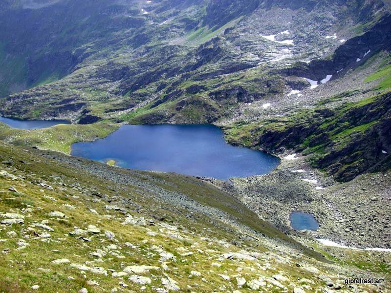 Weißensee und Ahornsee