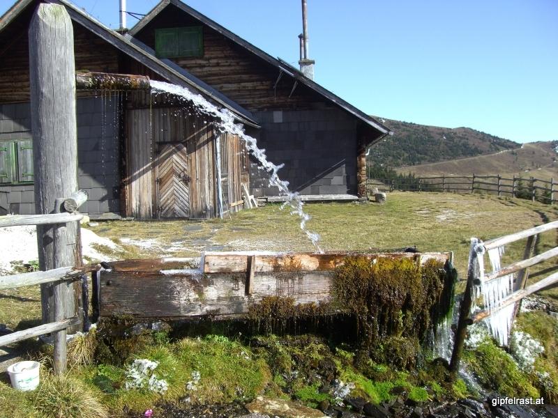Wasserspeier bei der Zeißmannhütte