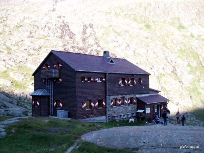 Die Elberfelderhütte im Gößnitztal