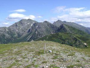 Hochhaide (links) und Großer Bösenstein (rechts hinten)