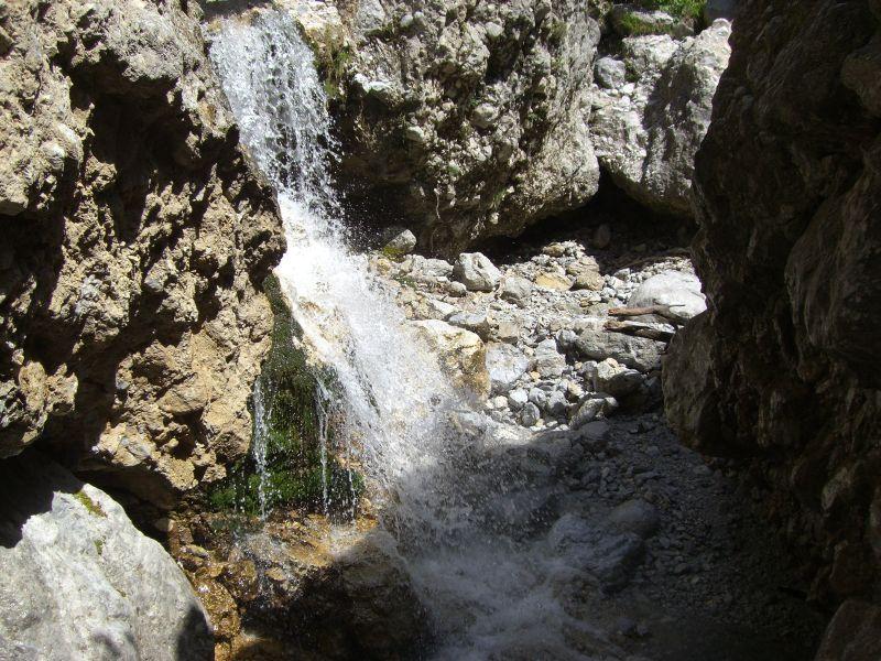 Dusche im Karlgraben