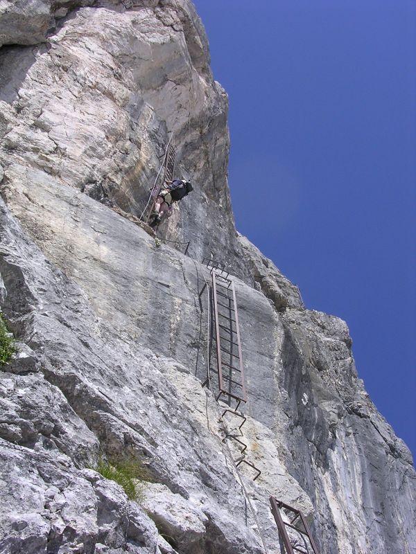 (Zu) Steile Leitern
