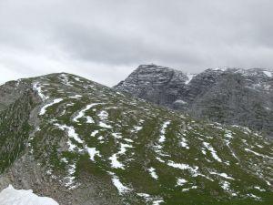 Das Warscheneck (hinten Mitte, 2388m)