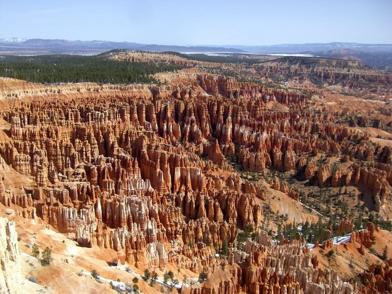 Klassisches Foto vom Bryce Canyon