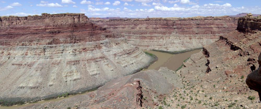 Zusammenfluss von Green River und Colorado River