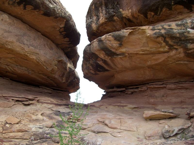 Felsige Passage