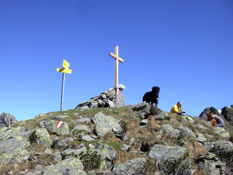 """""""Gipfel"""" der Hohen Gränden mit Wachhund"""