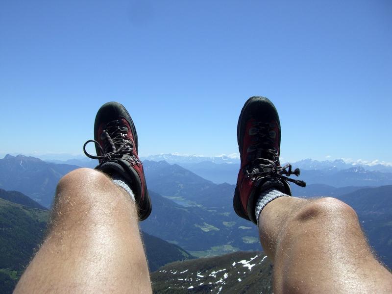 Die Julischen Alpen, nur ein Sprung entfernt