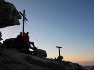 Beim Sonnenaufgang in über 3000m Höhe