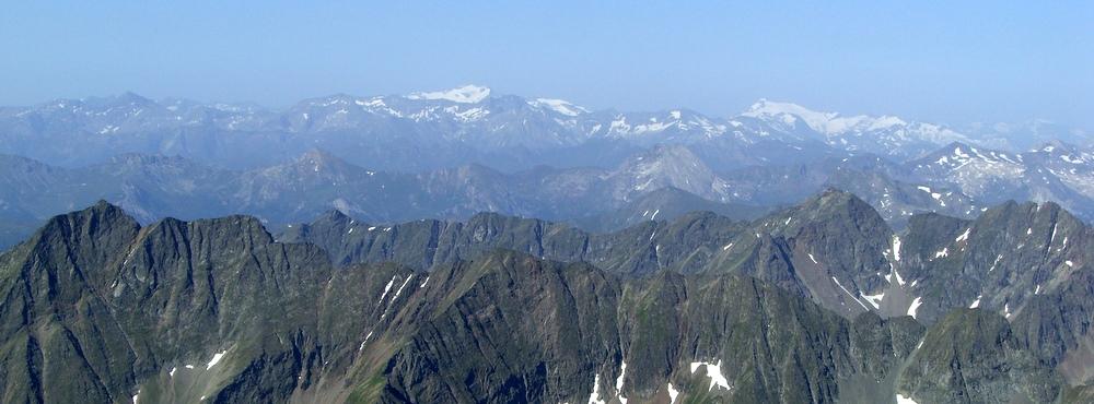 Blick zu Ankogel und Hochalmspitze