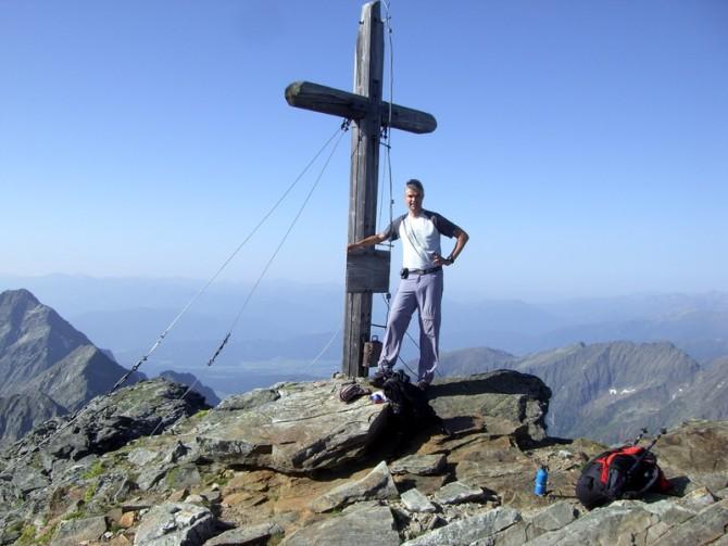Am Gipfel des Hochgolling