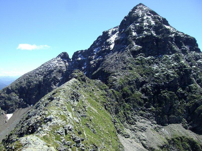 ...den letzten (steilen) Aufschwung zum Gipfel