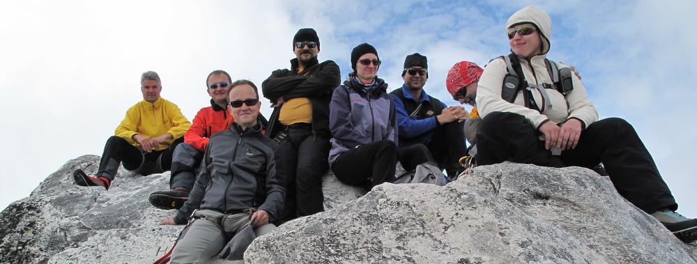 Am Gipfel der Granatspitze