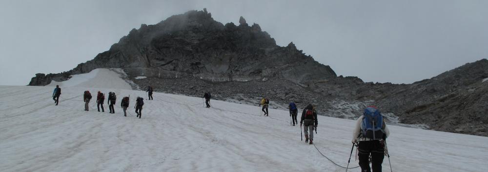 Der Gipfel ist in Sicht!