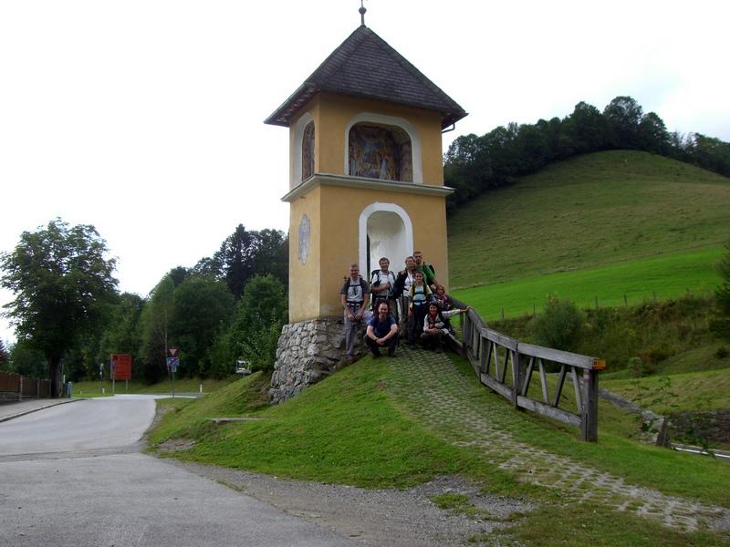 Irgendwann erreichen wir vor Mariazell das Luckerte Kreuz...