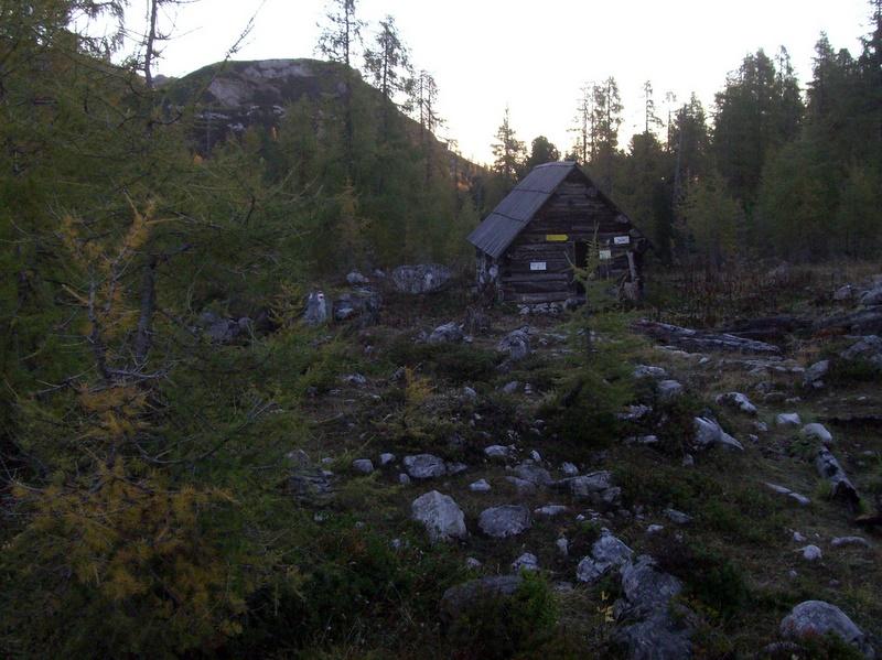Mein Nachtquartier: die Luckerhütte