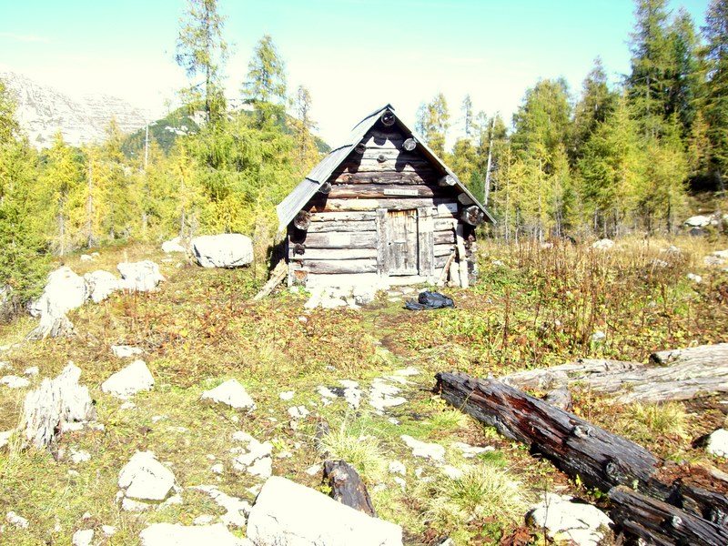 Luckerhütte bei Tageslicht