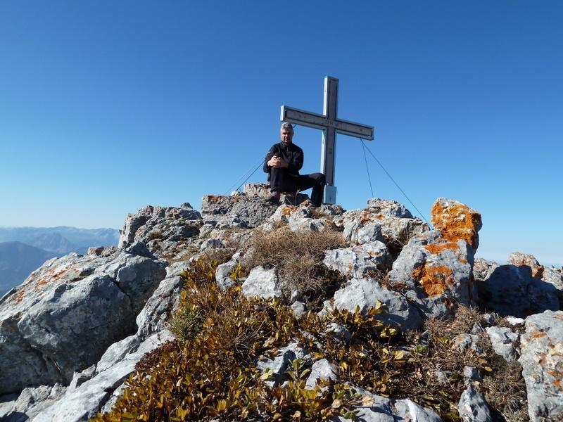 Nix-Hergeber am Gipfel