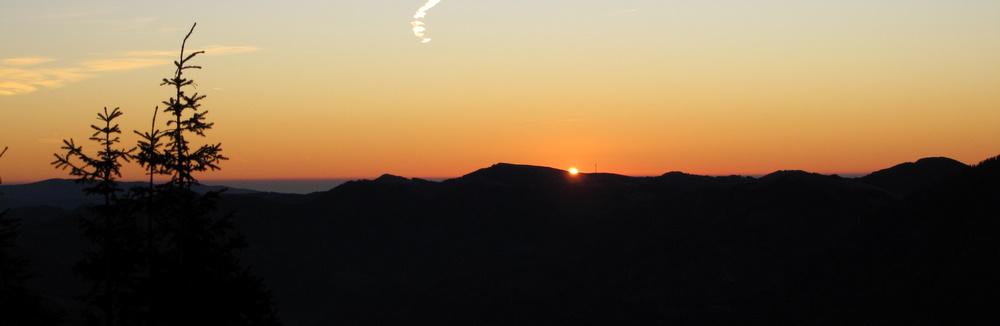 Der erste Sonnenstrahl