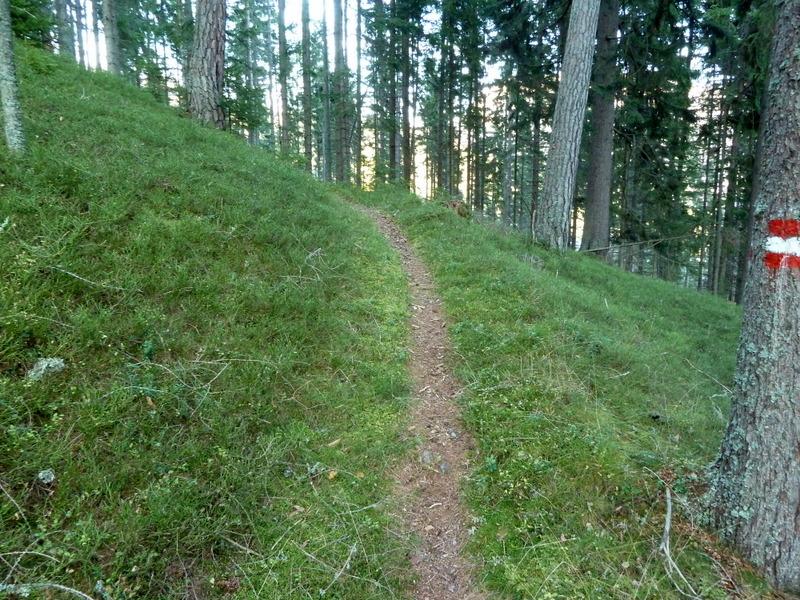 Der Weg wird gemütlicher...