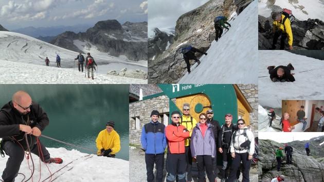 15.-21. August: Der Gletscherkurs auf der Rudolfshütte