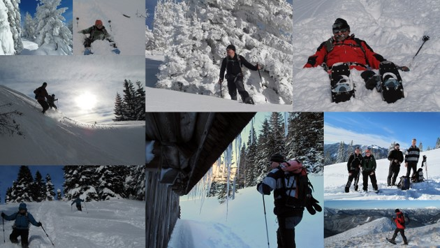 19. Dezember: Meine erste Schneeschuhtour