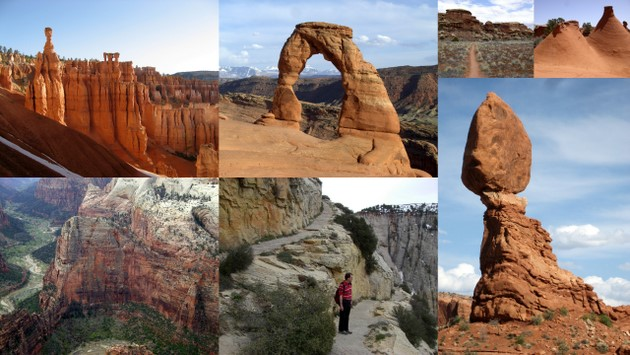 16.-20. April: Die Nationalparks in Utah: Zion, Bryce Canyon, Arches & Canyonlands
