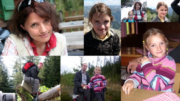 ...sowie Silvia (8 Tage) & ihre Familie (7 Tage)