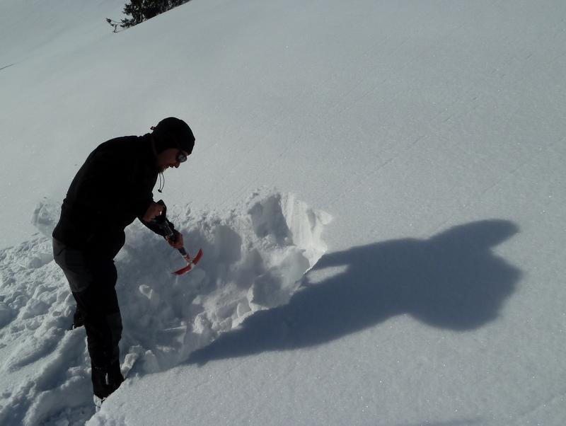 Rutschger gräbt die Landschaft um...