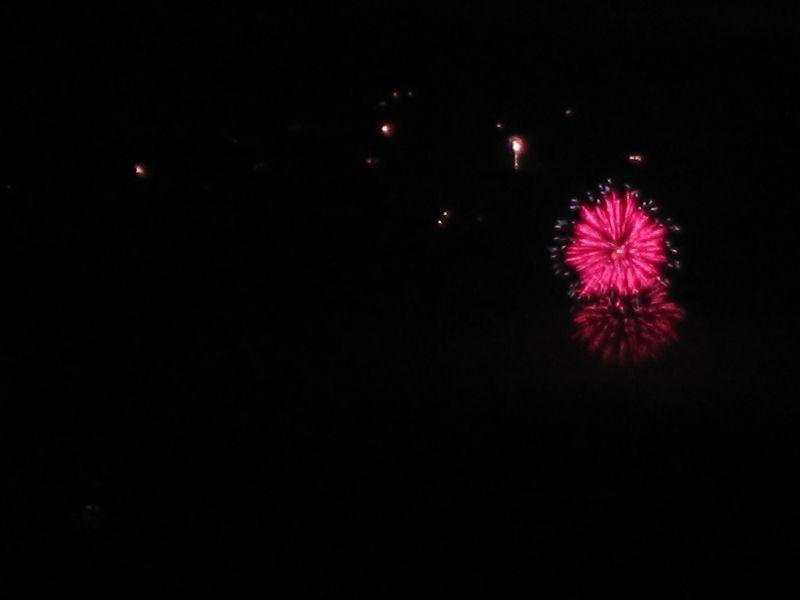Feuerwerk Detail