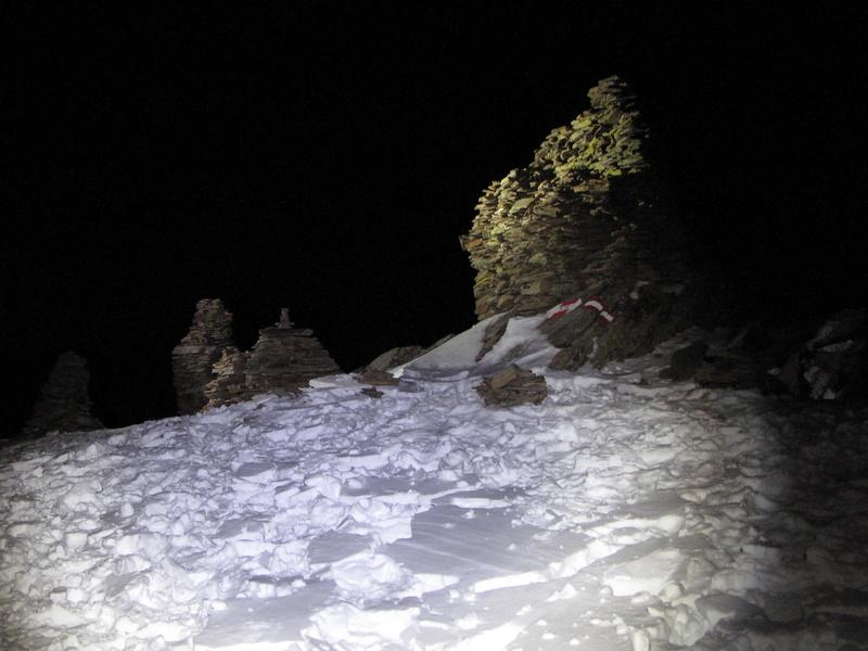 Die steinernen Mandln sind der Austragungsort...