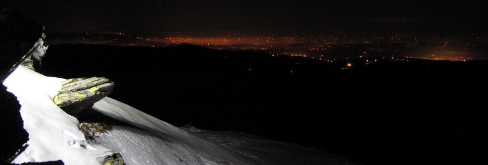 Blick auf Graz und Deutschlandsberg. Noch ist alles ruhig.