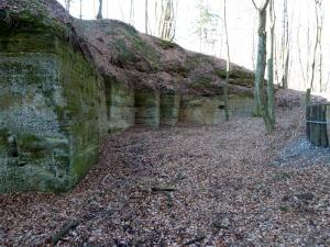 """Die """"Vulkanarena"""" bei Fehring - ein Basaltsteinbruch"""