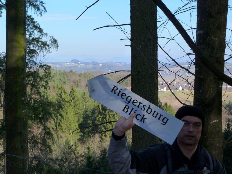 Die Riegersburg sehen wir heute noch öfters