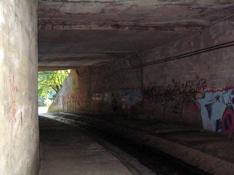 Die ersten unterirdischen Meter