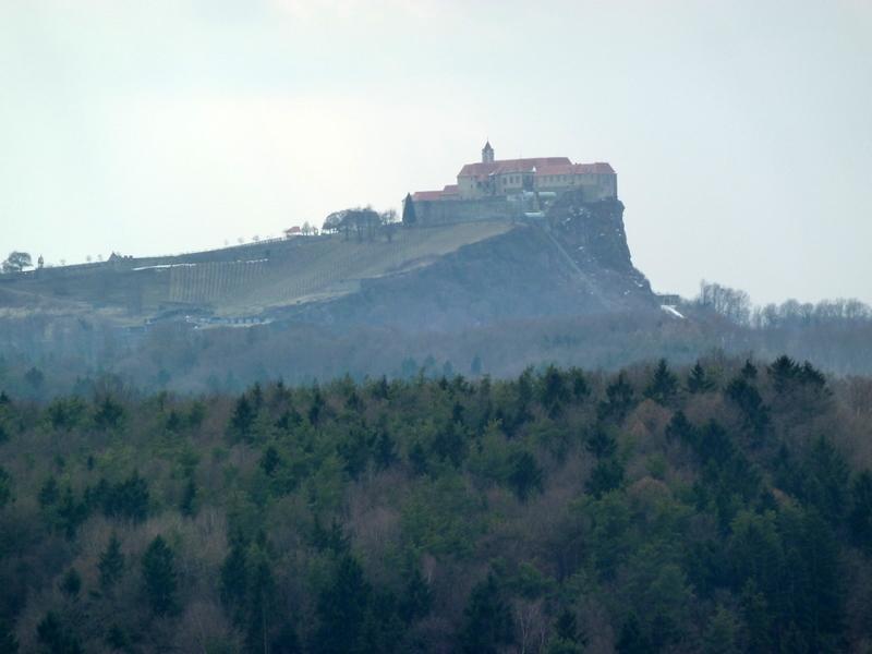 Der erste Blick auf die Riegersburg