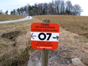 Weitwanderweg 07: Ostösterreichischer Grenzlandweg