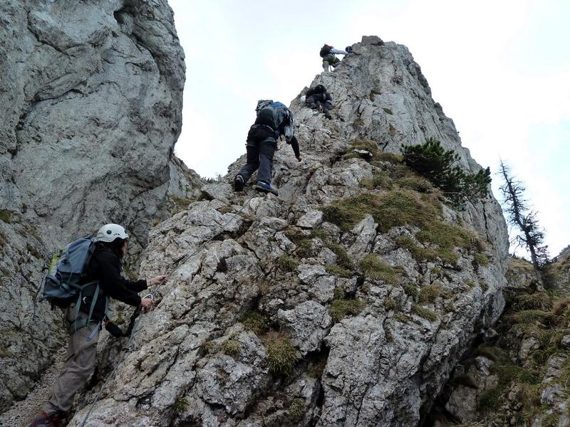 Klettersteig Hochlantsch : Hochlantsch via naturfreundeklettersteig u gipfelrast at