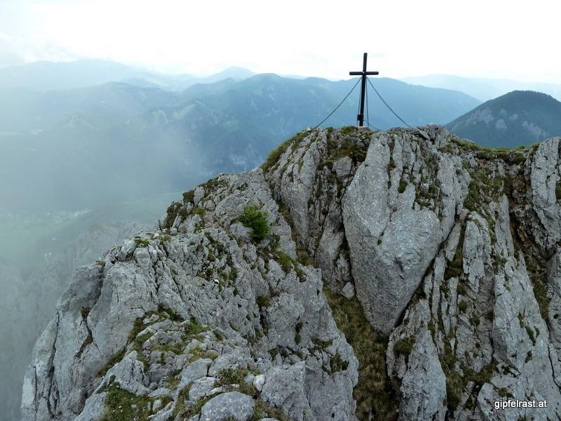 ...es dauert noch, bis der Gipfel in Sicht kommt!