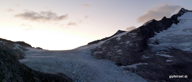 Sonnenaufgang über dem Zwischensulzbachtörl