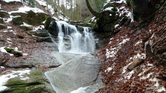 Wasserfall, die zweite