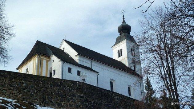 Fast oben - noch ein paar Stufen bis zur Kirche Sv. Duh