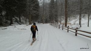 Die ersten Schritte des Skitourenwinters