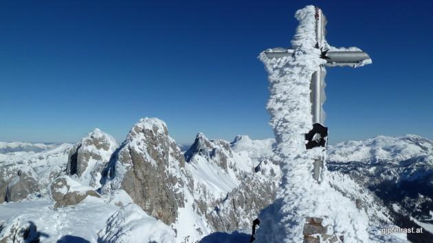 Gipfelkreuz auf der Vordernberger Griesmauer